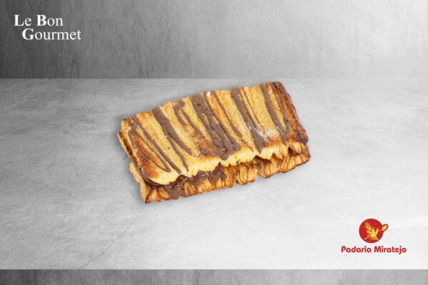 Palmier Recheado c: Chocolate